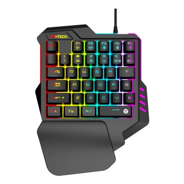 Fantech ARCHER K512 Rgb Backlights One-Hand Ergonomic Gaming Keyboard