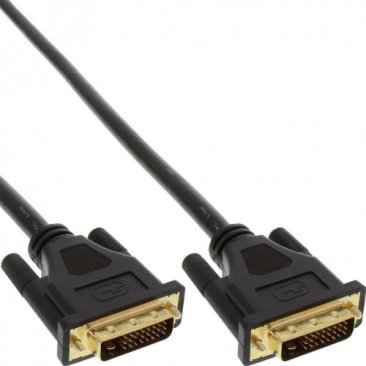 iMicro ST-DVI6MM 6ft DVI Dual Link Male to DVI Dual Link Male Cable (Black)