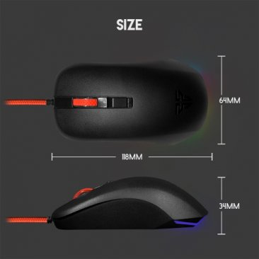 Fantech G13 DPI 800-2400 Professional Wired Gaming Mouse