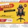 Orange Weekend Promotion! RANSOR Gaming Power II Orange Chair!